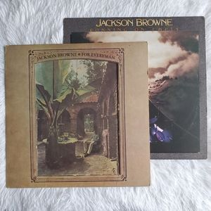 JACKSON BROWNE Vintage Record Album Lot